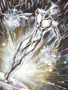 silver surfer, by cinar (deviant art)