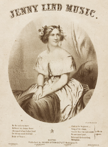 Jenny Lind Sheet Music Cover