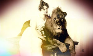 image of a lion tamer