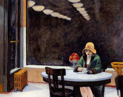 """Edward Hopper's """"Automat"""""""