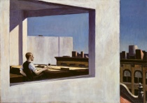 "Edward Hopper's ""Office in a Small City"""