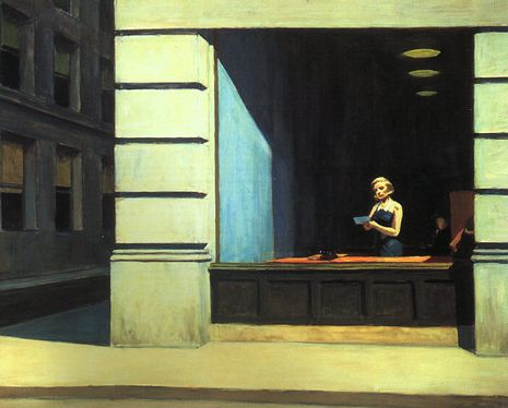 "Edward Hopper's ""New York Office"""