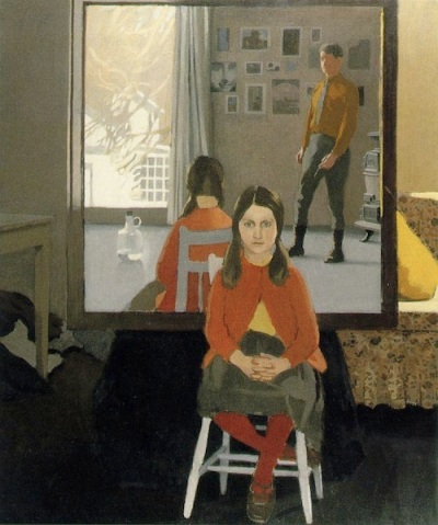 The Mirror (1966), by Fairfield Porter