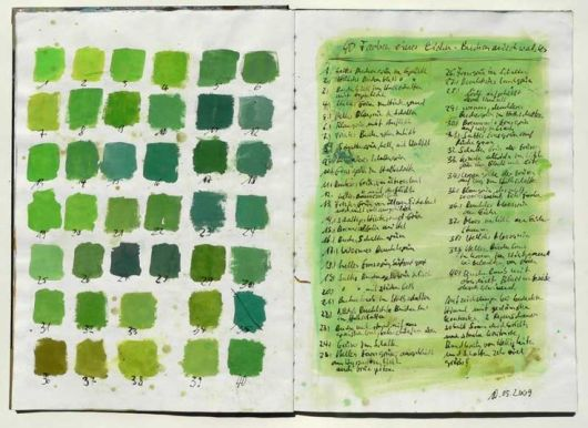40 shades of green observed in a spring forest. source: http://www.squidoo.com/forest-diary