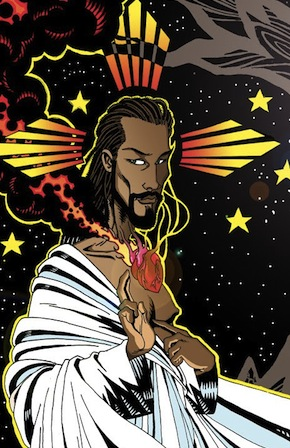 Black Jesus, from Space Station Orbiter: Cloud 99
