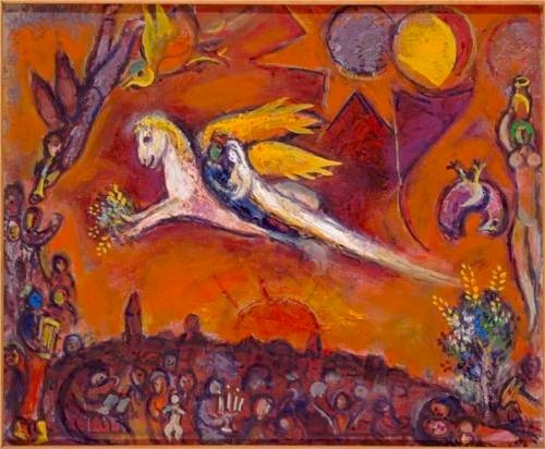 "Marc Chagall's ""Song of Songs IV"""