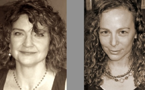 Poets Angela Ball and Rebecca Morgan Frank