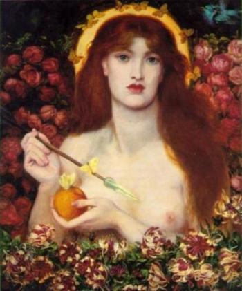 """Dante Gabriel Rosetti's """"Venus"""" (Lizzie Siddal)"""