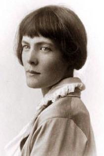 Photo of H.D. around 1920.