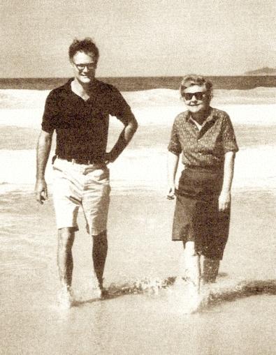 Robert Lowell with Elizabeth Bishop