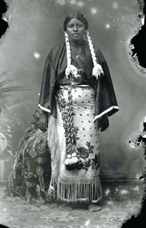 Diana Fletcher, an African Seminole (click to go to source)
