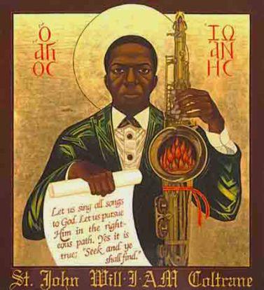 an iconic image of John Coltrane (source: wikipedia)