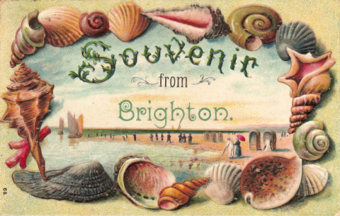 picture postcard from brighton