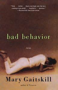 cover art for 'bad behavior' by Mary Gaitskill