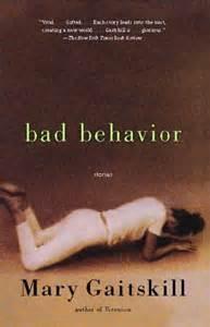 cover art for 'bad behavior' by Mary Gaitskill